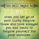Forgive and heal image