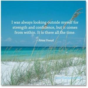 Strength inside myself